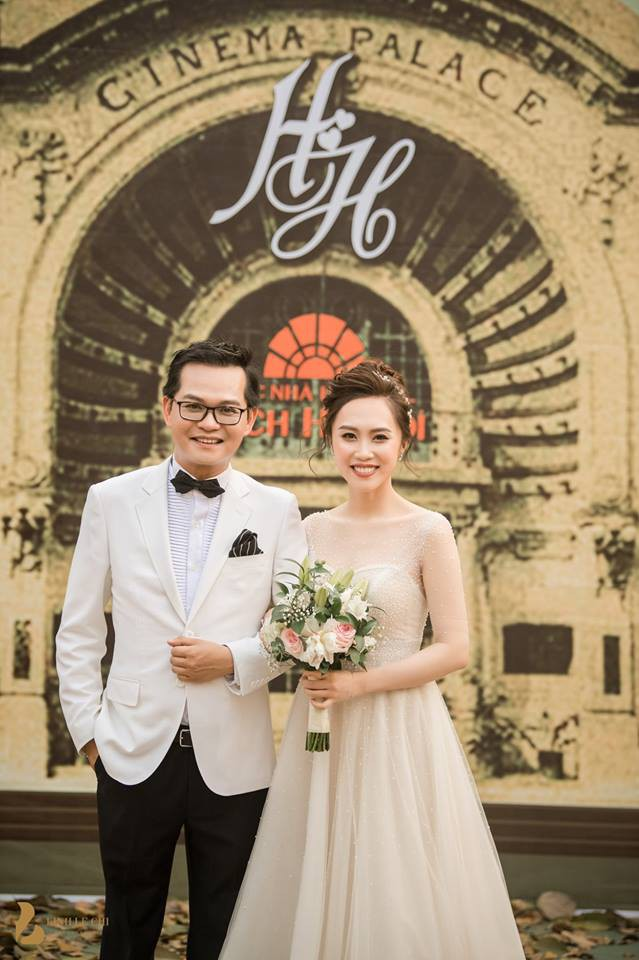 Toàn cảnh đám cưới ở Hà Nội của Giám đốc Nhà hát Kịch Hà Nội và hot girl 9X - Ảnh 5.