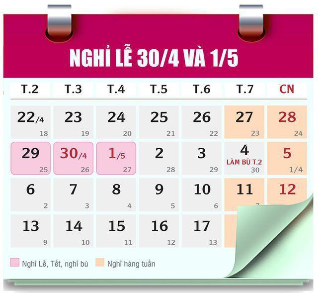 Thời tiết 5 ngày nghỉ lễ dịp 30/4 - 1/5 sắp tới ra sao? - Ảnh 2.