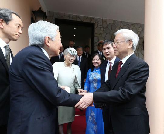 Tổng Bí thư, Chủ tịch nước gửi thư tới Thượng Hoàng Nhật Bản - Ảnh 1.