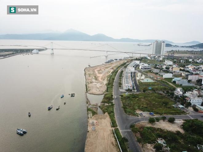 Các dự án lấn sông Hàn: Chính quyền đưa ra phương án mới - Ảnh 1.
