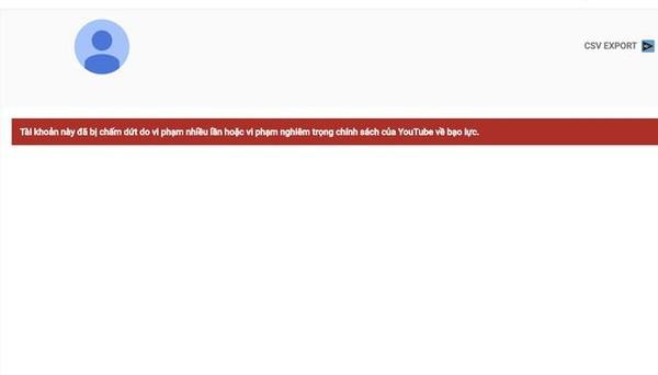 Sau Khá Bảnh, kênh YouTube kiếm hơn trăm triệu của thánh chửi Dương Minh Tuyền cũng bị xoá sổ hoàn toàn - Ảnh 1.