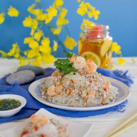 Học lỏm được công thức làm miến trộn của đầu bếp người Thái, tôi chẳng bao giờ phải tốn tiền đi nhà hàng để ăn món này nữa - Ảnh 7.