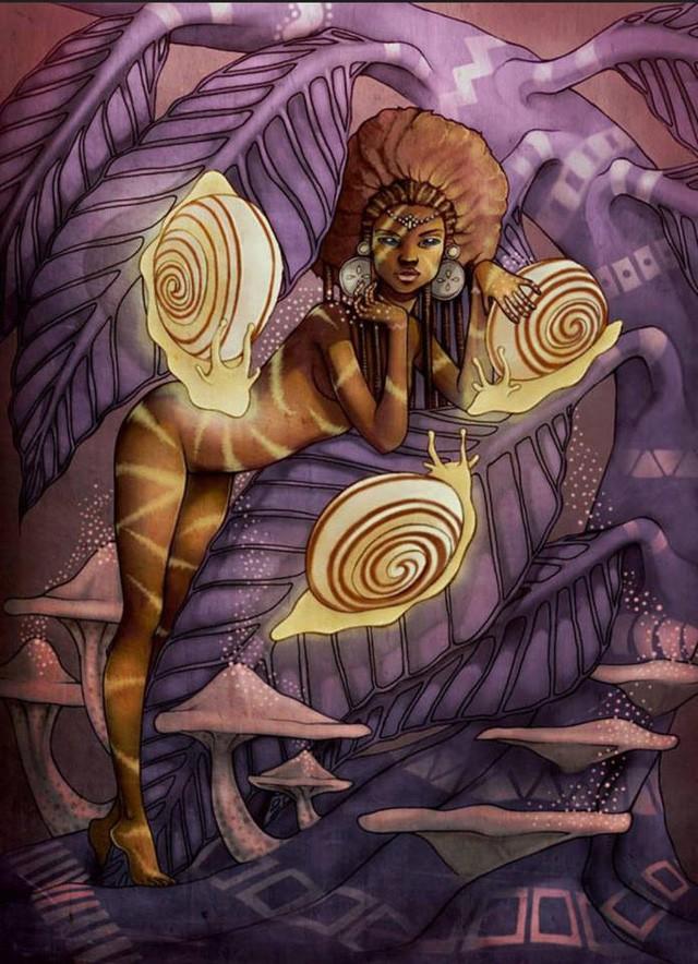Siêu nhền nhện Anansi: Vị thần ranh ma trong thần thoại châu Phi - Ảnh 6.