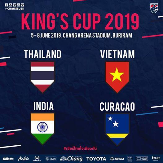 CHÍNH THỨC xác định đối thủ của Việt Nam ở King's Cup - Ảnh 1.