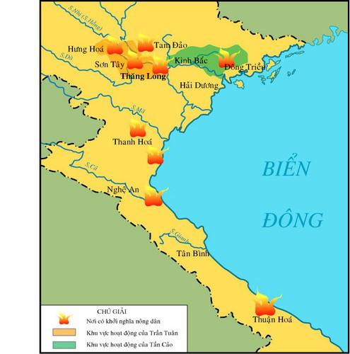 Một trong những triều đại hùng mạnh nhất lịch sử sụp đổ, Đại Việt bị chia cắt - ảnh 1