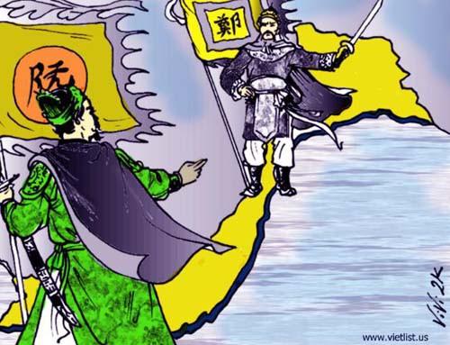 Một trong những triều đại hùng mạnh nhất lịch sử sụp đổ, Đại Việt bị chia cắt - ảnh 2
