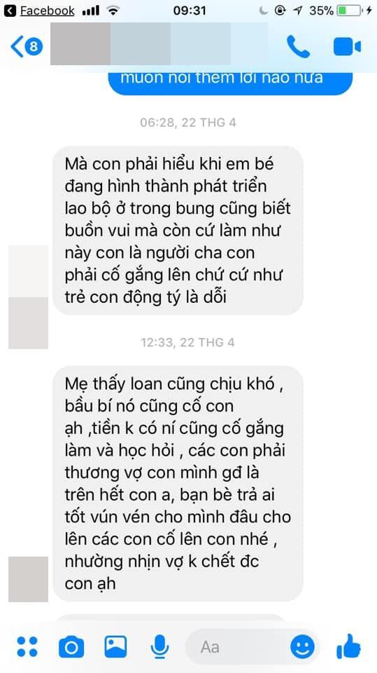 Vợ chồng cãi nhau và đoạn tin nhắn của mẹ chồng khiến hội chị em đồng loạt đưa ra 1 câu hỏi - ảnh 1
