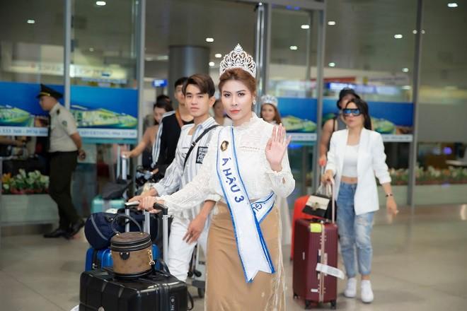 Người đẹp mồ côi cha, từng bán vé số đăng quang Á hậu Sắc đẹp toàn cầu Châu Á 2019 - Ảnh 5.