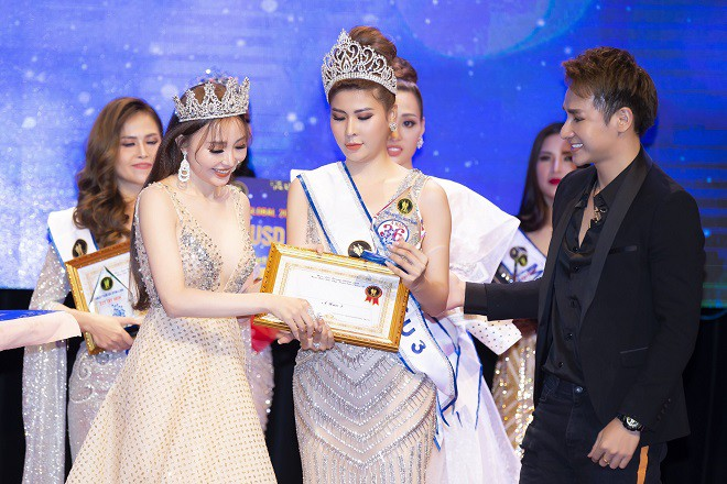 Người đẹp mồ côi cha, từng bán vé số đăng quang Á hậu Sắc đẹp toàn cầu Châu Á 2019 - Ảnh 2.