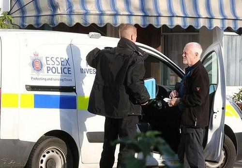 Ông Robert đã bị cảnh sát bắt giữ ngay tại hiện trường - Ảnh: BBC