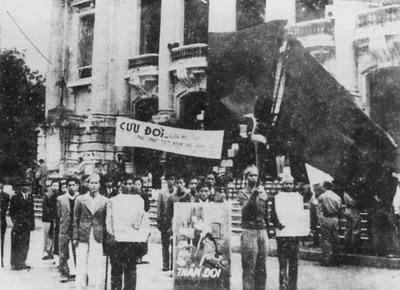 Sau cách mạng tháng 8, nước ta đối diện nhiều khó khăn: Cả giặc đói lẫn giặc dốt - Ảnh 3.