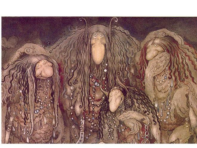 Ba Bị chín quai, mười hai con mắt: Nỗi ám ảnh đáng sợ nhất của mọi đứa trẻ - ảnh 2