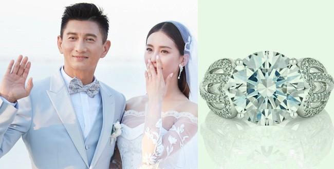 Đọ độ xa hoa của những chiếc nhẫn cưới hàng trăm tỷ đồng: Huỳnh Hiểu Minh - Angelababy hay Lâm Tâm Như cũng phải chịu thua cặp đôi này - Ảnh 2.