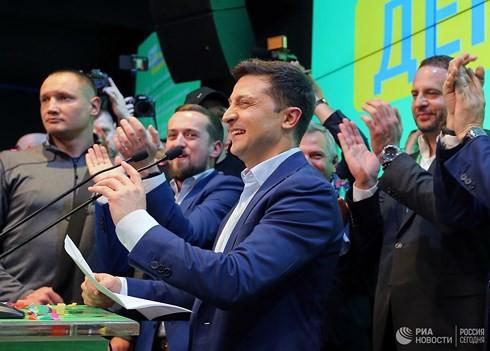 Hé lộ chương trình Lễ nhậm chức, lời thề của Tổng thống đắc cử Ukraine Zelensky - Ảnh 1.
