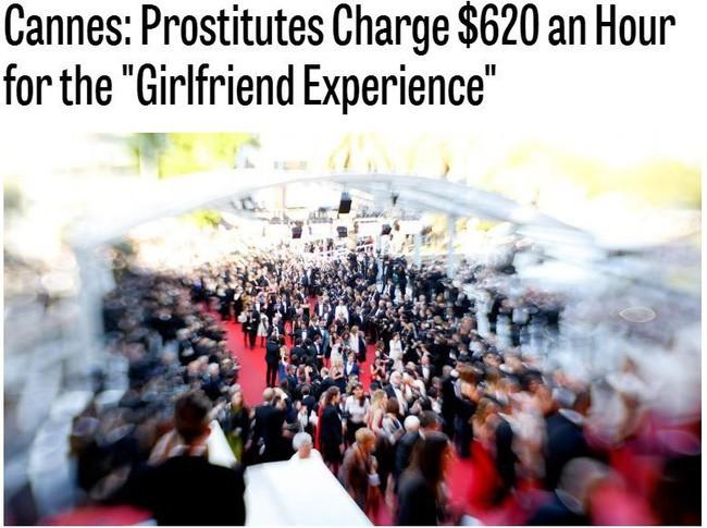 Đằng sau hào quang của LHP Cannes: Nơi kiếm tiền của gái bán dâm hạng sang, có người kiếm được cả tỷ đồng cho một lần qua đêm cùng đại gia - Ảnh 2.
