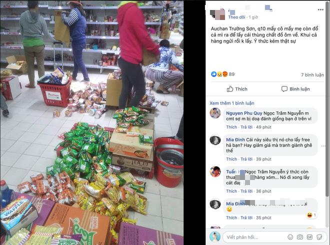 Sốc với cảnh tượng còn sót lại sau khi người dân săn đồ giảm 50% nhân dịp chuỗi siêu thị Auchan rời khỏi Việt Nam - ảnh 9