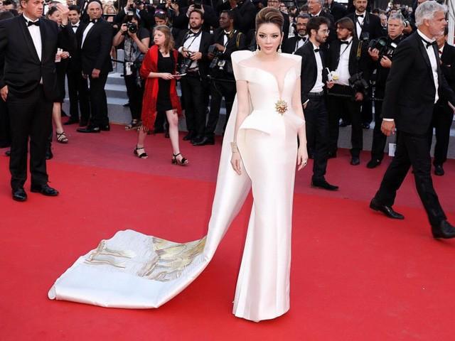 Vì sao Lý Nhã Kỳ không dự LHP Cannes như Ngọc Trinh năm nay? - ảnh 5