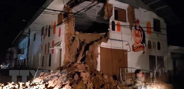 Ghi nhận thương vong trong trận động đất mạnh nhất thế giới năm 2019 - Ảnh 1.