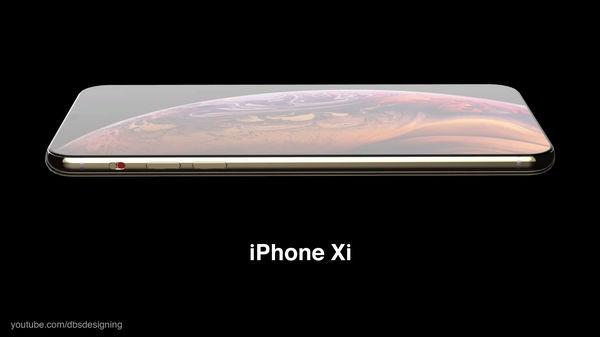 iPhone XI lộ diện đầy mê hoặc với màn hình đục lỗ, 4 camera sau - Ảnh 4.