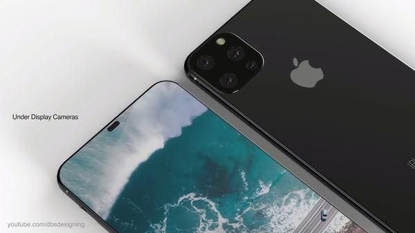 iPhone XI lộ diện đầy mê hoặc với màn hình đục lỗ, 4 camera sau - Ảnh 2.