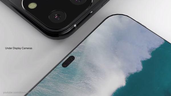 iPhone XI lộ diện đầy mê hoặc với màn hình đục lỗ, 4 camera sau - Ảnh 3.