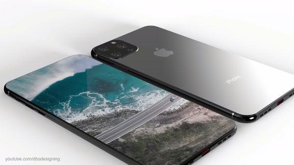 iPhone XI lộ diện đầy mê hoặc với màn hình đục lỗ, 4 camera sau - Ảnh 1.