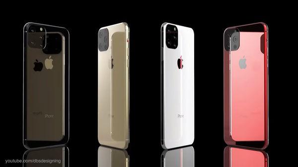 iPhone XI lộ diện đầy mê hoặc với màn hình đục lỗ, 4 camera sau - Ảnh 6.