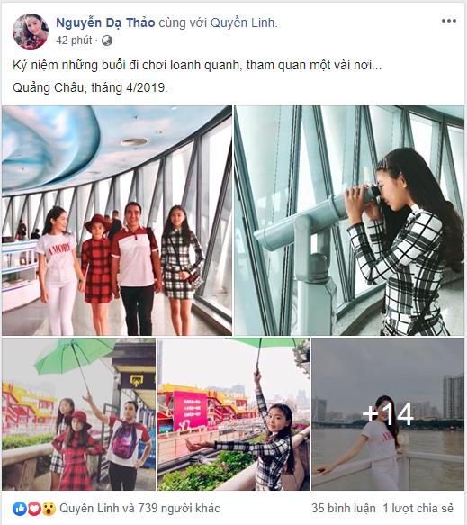 Bà xã Quyền Linh chia sẻ ảnh đi du lịch của gia đình, dân tình phát hiện ra tận 2 điều thú vị - Ảnh 1.