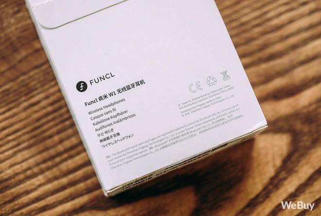Dân mạng kháo nhau mua tai nghe không dây Funcl W1: Đỉnh cao True Wireless giá chưa tới 600 nghìn? - Ảnh 6.
