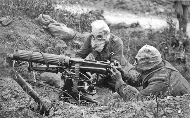 Ảnh hiếm lột tả chân thực những trận chiến khốc liệt trong Thế chiến I - ảnh 1