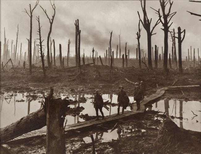 Ảnh hiếm lột tả chân thực những trận chiến khốc liệt trong Thế chiến I - ảnh 2