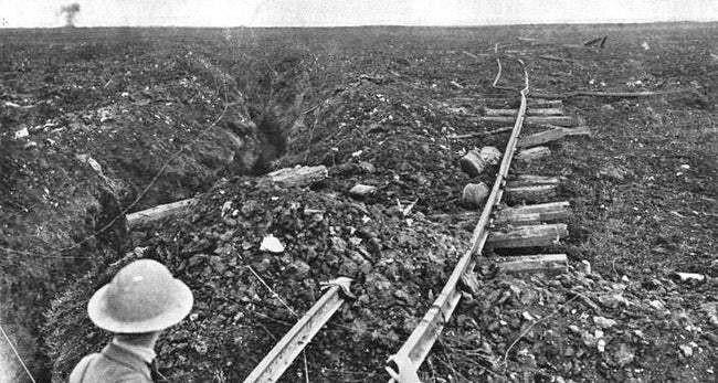 Ảnh hiếm lột tả chân thực những trận chiến khốc liệt trong Thế chiến I - ảnh 18