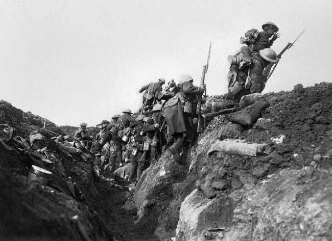 Ảnh hiếm lột tả chân thực những trận chiến khốc liệt trong Thế chiến I - ảnh 6