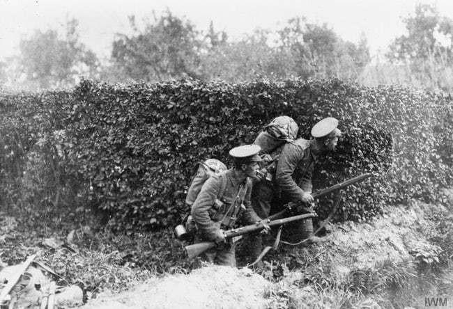 Ảnh hiếm lột tả chân thực những trận chiến khốc liệt trong Thế chiến I - ảnh 7