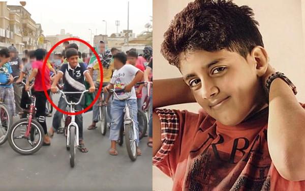 Murtaja Qureiri bị bắt vì tham gia biểu tình năm 10 tuổi.