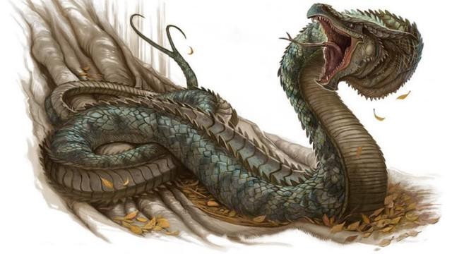 Basilisk: Con quái vật giết người chỉ bằng một ánh nhìn - Ảnh 2.