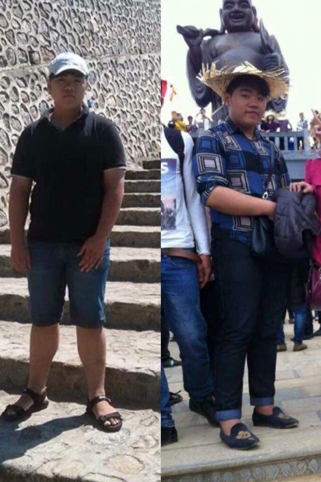 Giảm liền 45kg sau một câu nói, 3 năm sau chàng trai Thanh Hoá có màn lột xác không ngờ - Ảnh 4.