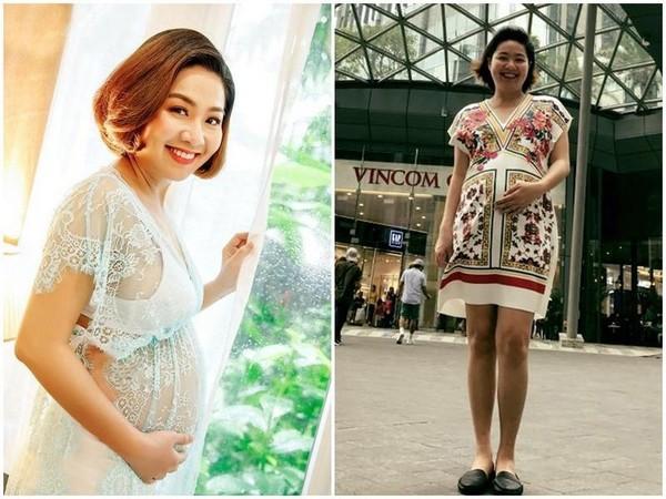 Điểm danh dàn sao Việt khi mang bầu nhan sắc tuột dốc không phanh, xấu đến mức không nhận ra - Ảnh 10.