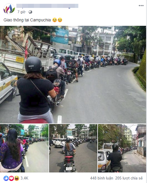 Một fanpage Việt Nam chia sẻ những tấm hình gây sốt.