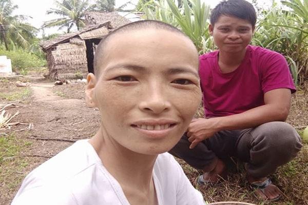 Người đàn ông Trà Vinh hơn 4 năm cưu mangcô gái bịung thư quen qua mạng - ảnh 3