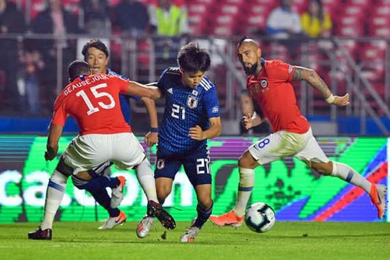 Sanchez tỏa sáng, Chile thắng đậm Nhật Bản 4-0! - Ảnh 1.
