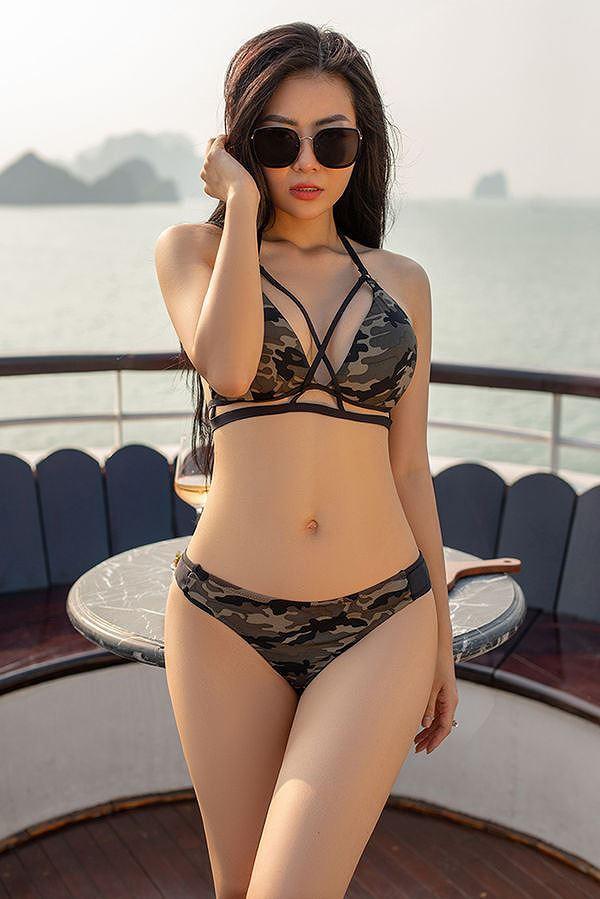 Bỏng mắt với ảnh bikini của 3 mỹ nhân phim truyền hình khung giờ vàng - Ảnh 4.