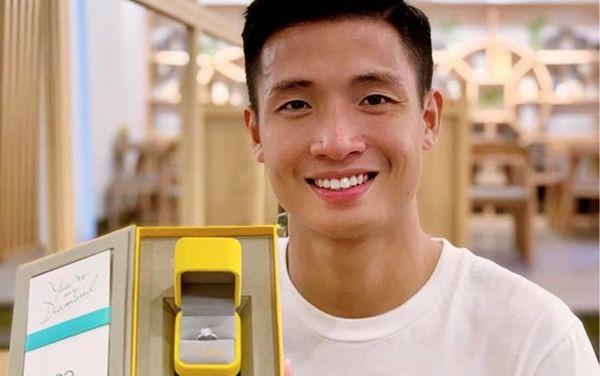 Ngày mai Bùi Tiến Dũng làm lễ đính hôn với bạn gái đại gia Bắc Ninh - Ảnh 1.