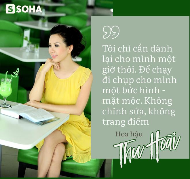 Hoa hậu Thu Hoài: Nếu chỉ còn 1 ngày để sống, tôi sẽ đổi tất cả những gì mình có để con được bình an trong tương lai - Ảnh 2.