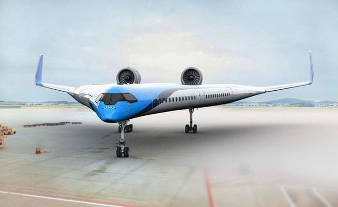 Trong tương lai, hành khách có thể ngồi những chiếc máy bay có hình V độc đáo như thế này - Ảnh 1.