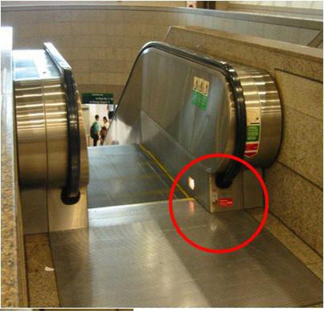 Nút Dừng khẩn cấp của thang cuốn nằm ở đâu? Nhiều người đi cả tỷ lần rồi vẫn không biết, đến khi sự cố xảy ra không ứng phó kịp - Ảnh 4.