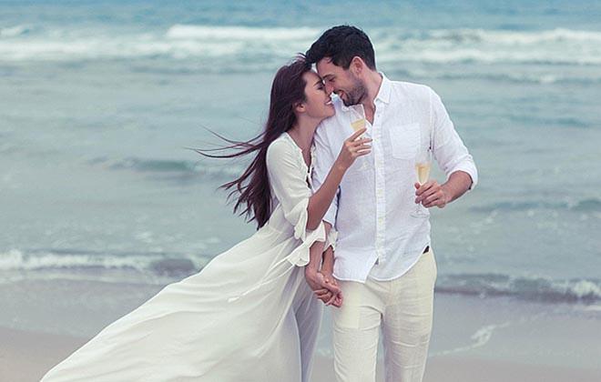 Ảnh cưới mặc bikini nóng bỏng, táo bạo của 3 mỹ nhân showbiz Việt - Ảnh 8.