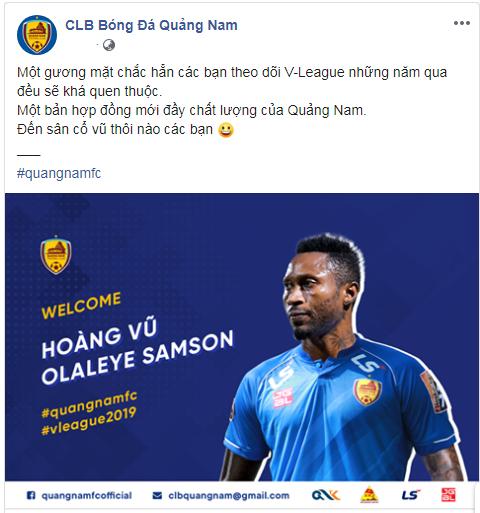 Chân sút xuất sắc nhất lịch sử V.League rời Hà Nội FC, lựa chọn bến đỗ mới đầy bất ngờ - Ảnh 1.
