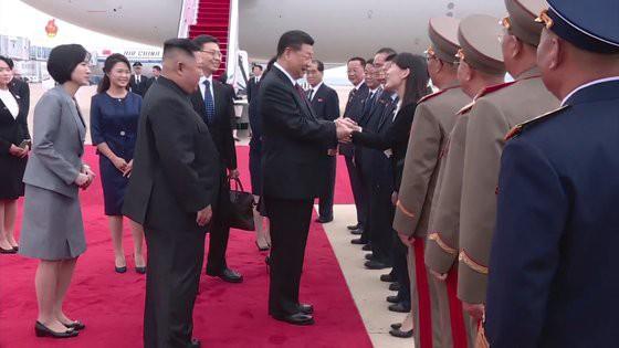 Ngồi ở vị trí đặc biệt, em gái Chủ tịch Kim Jong Un nằm trong nhóm 9 nhân vật quyền lực nhất Triều Tiên? - ảnh 1