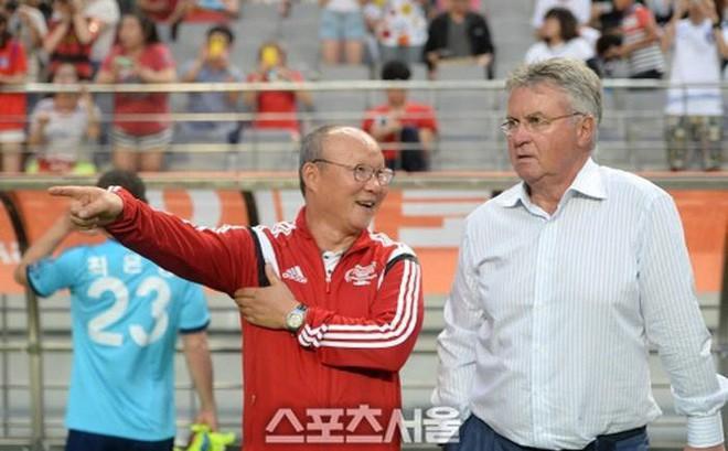 Trợ lý bật mí chi tiết bất ngờ khi thầy Park tái ngộ HLV Hiddink tại Trung Quốc - Ảnh 1.